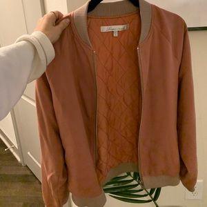 Jackets & Blazers - Pink lovers & friends bomber jacket